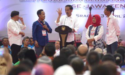 Dengarkan Petani, Presiden Berdialog Tentang Harga Pupuk Hingga Pengeringan Padi