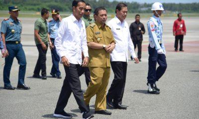 Kunjungi Kalimantan, Presiden Jokowi Tinjau Lokasi Alternatif Pemindahan Ibu Kota RI