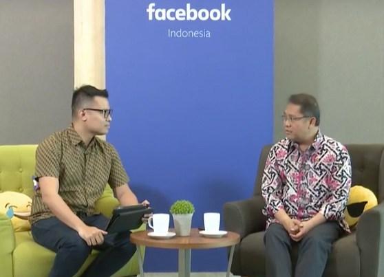 Menkominfo Rudiantara Minta Facebook Tingkatkan Literasi Digital Masyarakat