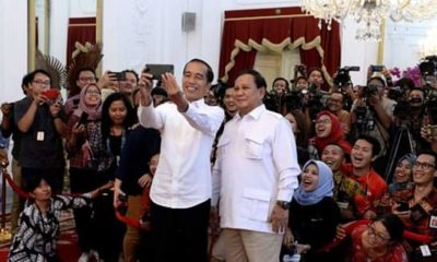 Prabowo Pastikan Dirinya Dipercaya Jadi Menteri Pertahanan Kabinet Jokowi