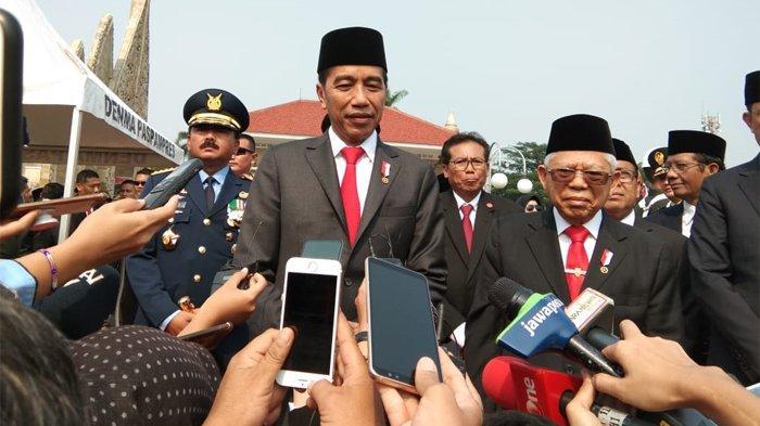 Beda Dengan Moeldoko Jokowi Tegaskan Belum Akan Tambah Wakil Menteri