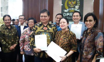 Ketua DPR Segera Bahas Draf Omnibus Law Cipta Kerja yang Diserahkan Pemerintah