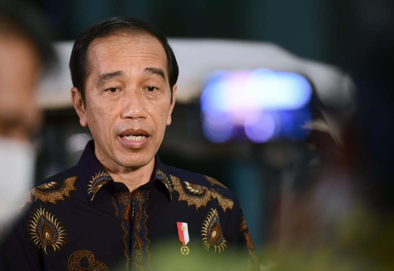 Pernyataan Pers Presiden RI terkait Bencana Banjir di Provinsi Kalimantan Selatan, 15 Januari 2021, diIstana Kepresidenan Bogor, Provinsi Jawa Barat