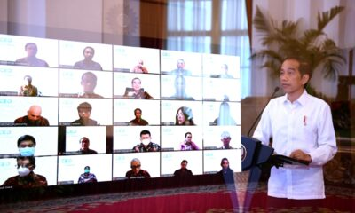 Presiden Jokowi Optimistis Tahun 2021 Jadi Momentum Untuk Bangkit