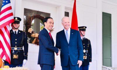 Presiden Jokowi Sampaikan Selamat Kepada Joe Biden & Kamala Harris